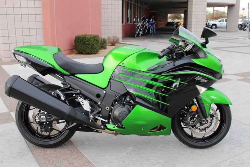 $11,999, 2015 Kawasaki Ninja ZX-14R ABS