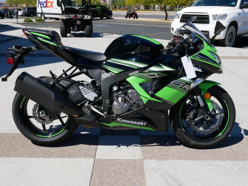 $11,499, 2017 Kawasaki Ninja ZX-6R ABS KRT Edition