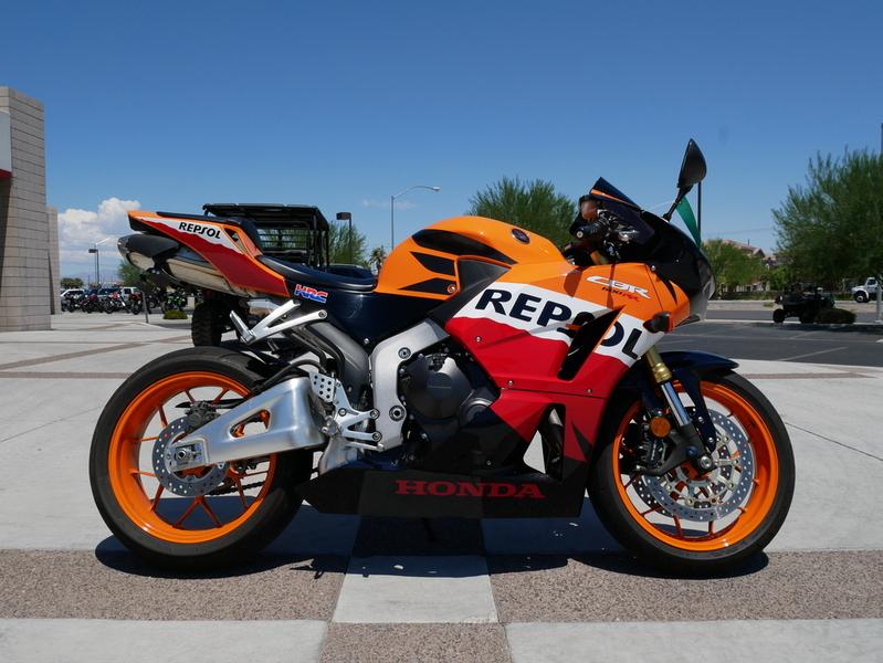 $8,799, 2013 Honda CBR 600RR Repsol Edition