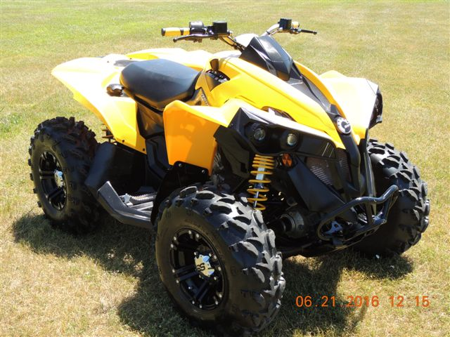 $6,299, 2012 Can-Am RENEGADE 1000