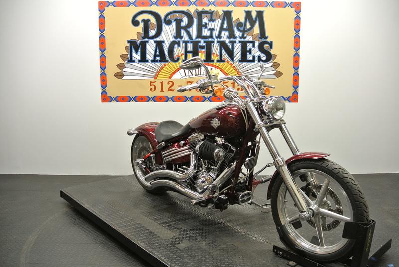 $10,950, 2008 Harley-Davidson FXCWC - Rocker C