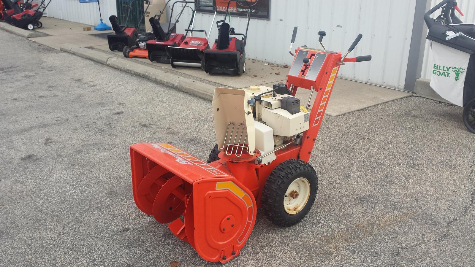 $500, Simplicity Simplicity 2 Stage Snow Blower