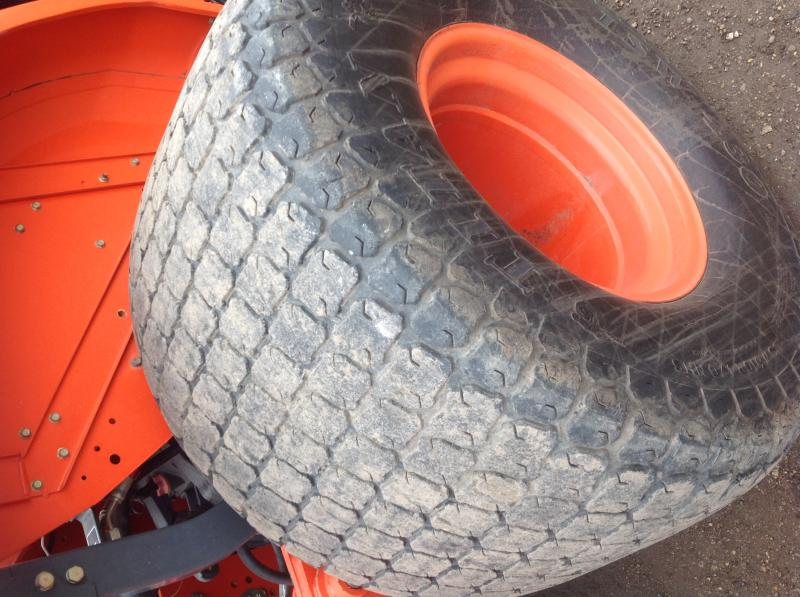 Kubota Front Tires : Kubota floatation tires full set for l series tractors