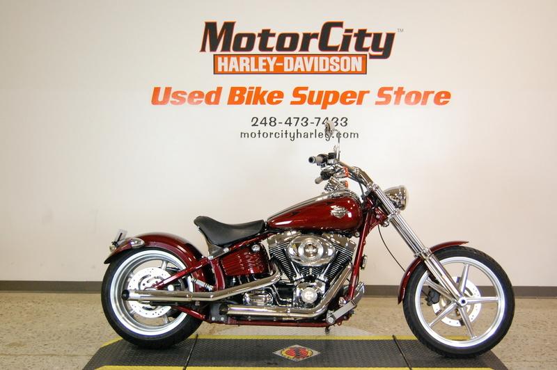 $12,495, 2009 Harley-Davidson FXCWC - Rocker C