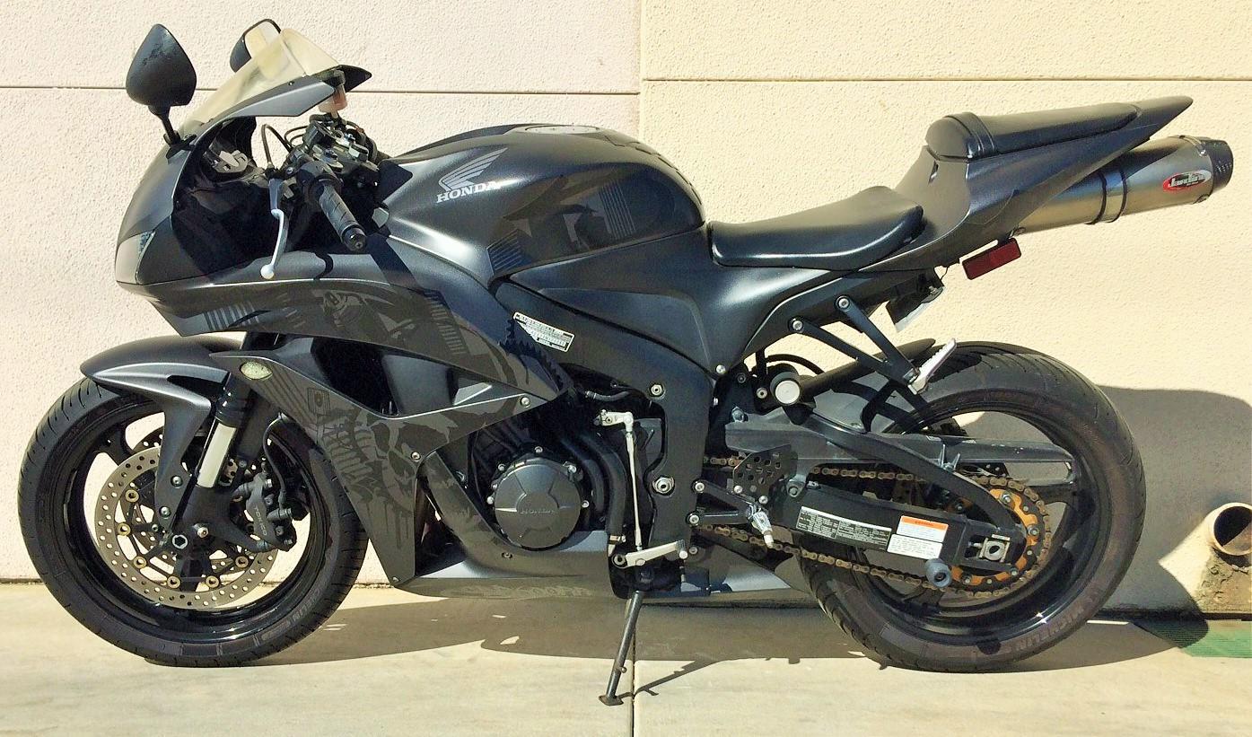 $9,999, 2008 Honda CBR 600RR