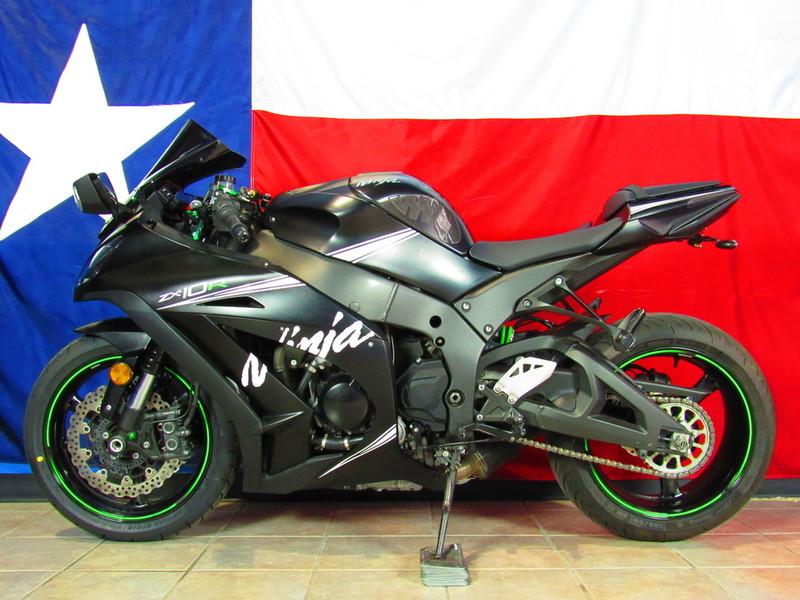 $11,160, 2015 Kawasaki Ninja ZX-10R