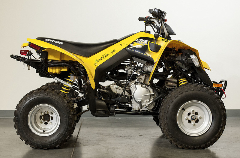 $4,199, 2016 Can-Am DS 250